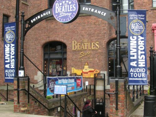 The Beatles Story museum in Liverpool, England.